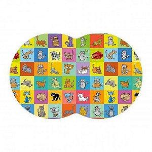 Tapete Pet Gatos - Color 54X39cm