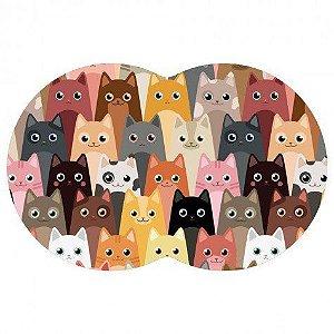 Tapete Pet Gato - Color 54X39cm