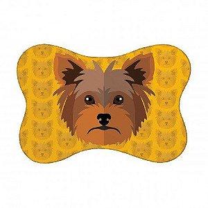 Tapete Pet Yorkshire - Amarelo 46X33cm