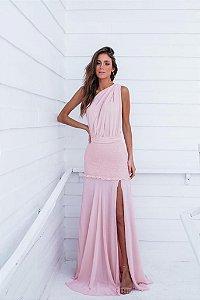 Vestido Longo Raissa Rose