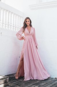 Vestido Longo Fabi Rose