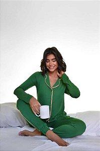Pijama Quebec Verde