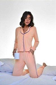Pijama Quebec Laranja