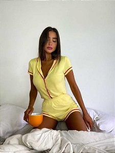 Pijama Believe Amarelo