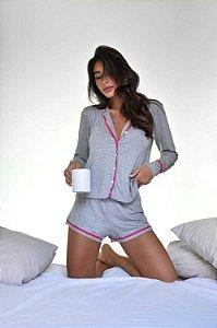 Pijama Hope Cinza