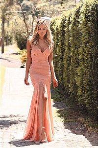 Vestido Longo Lorena Coral