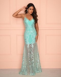 Vestido Longo Spencer Tiffany