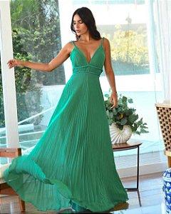 Vestido Longo Valentina Verde