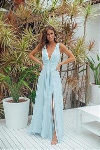 Vestido Longo Taylor Azul