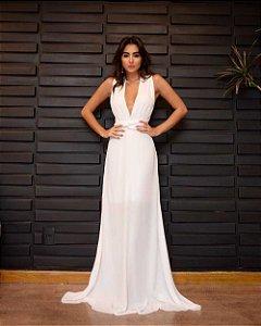 Vestido Longo Mikonos Branco