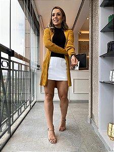 Cardigan Jessica Mostarda