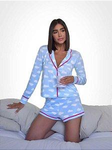 Pijama Shorts Nuvem