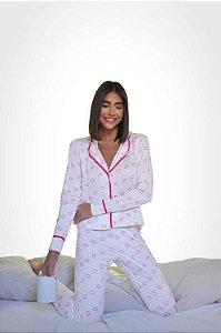 Pijama Longo Beijo
