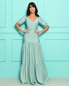 Vestido Longo Bianca Verde