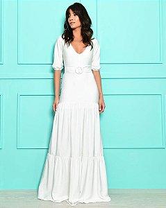 Vestido Longo Bianca Branco