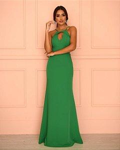 Vestido Longo Alice Verde