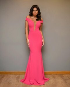 Vestido Longo Thai Pink