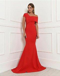 Vestido Longo Sol Vermelho