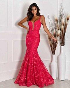 Vestido Longo Serena Pink