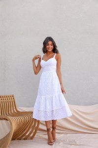 Vestido Mid Bianca