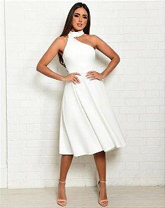 Vestido Mid Lisa Branco