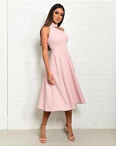 Vestido Mid Lisa Rose