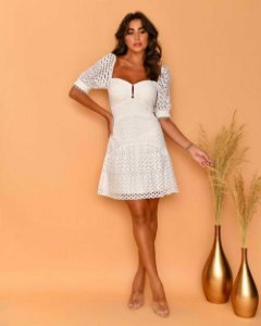 Vestido Jacque Branco