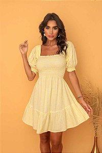 Vestido Rebeca Amarelo
