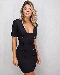 Vestido Mariana Preto