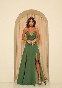 Vestido Longo Ibiza Verde Floresta