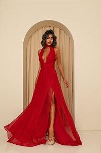 Vestido Longo Santorini Vermelho