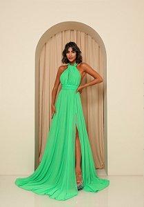 Vestido Longo Santorini Verde