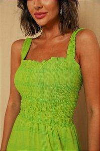 Vestido Longo Bela Verde