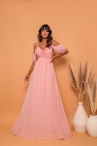 Vestido Longo Francine Rose