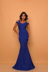 Vestido Longo Loren Azul