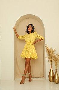 Vestido Laise Layla Amarelo