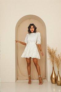 Vestido Laise Layla Branco