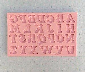 Molde de silicone Alfabeto / Letras