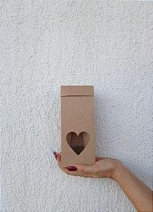 Saco Pracite com Visor Coração