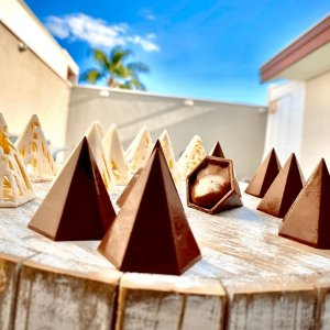 Forma Trufa Pirâmide 6 Faces 9780 BWB