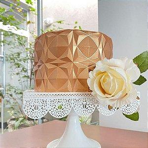 Forma Perfeita Simetria BWB 10149 Origami Cake