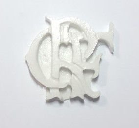 Molde de silicone Escudo Flamengo