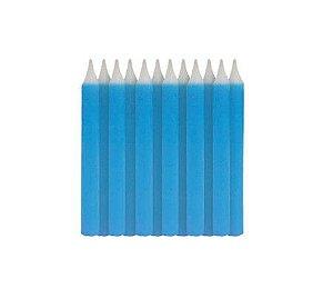 Vela Palito para Aniversário Azul