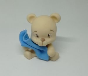 Aplique de Biscuit Urso (Mimos de Luxo)