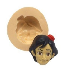 Molde de silicone Rosto do Aladdin