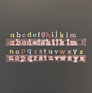 Régua Alfabeto Minúsculo