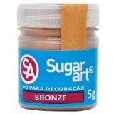 Pó Para Decoração Bronze 5g SugarArt