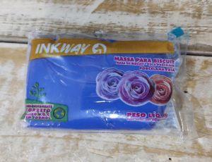 Pasta de biscuit InkWay Azul Cobalto 85 gr