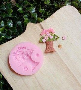 Molde de silicone Vaso de Flores / jardim