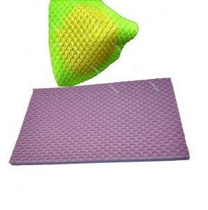 Molde de silicone Textura de Escamas